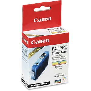 Canon BCI 3ePC Photo Cyan Ink Cartridge CNMBCI3EPC
