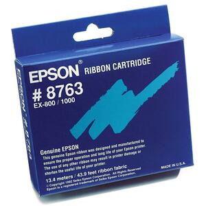 Epson Ribbon Cartridge - Black EPS8763