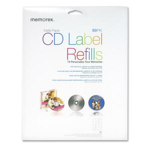 Memorex CD Label Refill MEM00412