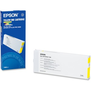 Epson Yellow Ink Cartridge EPST408011