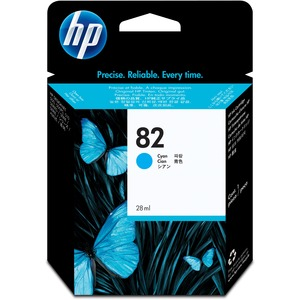 HP 82 69-ml Cyan Ink Cartridge HEWC4911A