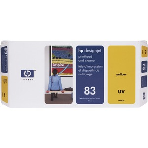 HP 83 Yellow Printhead/Cleaner HEWC4963A