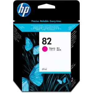 HP 82 69-ml Magenta Ink Cartridge HEWC4912A