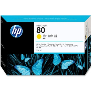 HP 80 Ink Cartridge - Yellow HEWC4848A