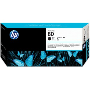 HP 80 Black Printhead/Cleaner HEWC4820A