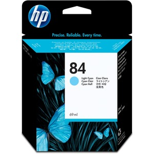 HP 84 Cyan Ink Cartridge HEWC5017A