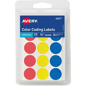 Avery Color Coding Label AVE06167
