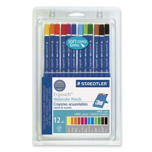 Staedtler Ergosoft Watercolor Pencil Set STD156SB12CS