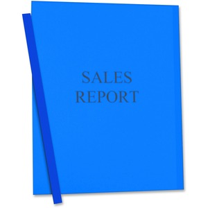C-line Vinyl Report Cover with Binding Bars CLI32555