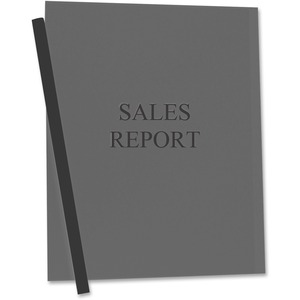C-line Vinyl Report Cover with Binding Bars CLI32551