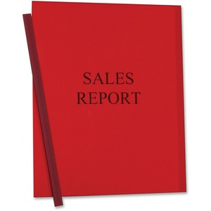 C-line Vinyl Report Cover with Binding Bars CLI32554