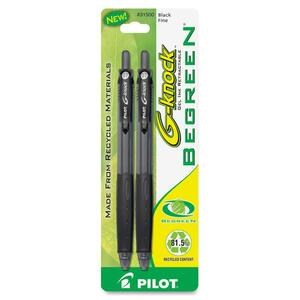 Pilot BeGreen G-Knock Gel Ink Pen PIL31500