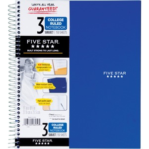 Mead 3-Subject Trend Notebook MEA06050