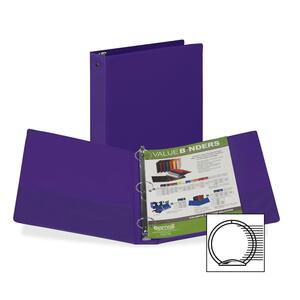 Samsill Flexible Hinge 3-Ring Value Storage Binder SAM11508