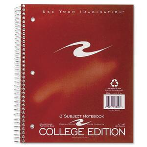 Roaring Spring 3-Subject Spiralbound Notebook ROA83903