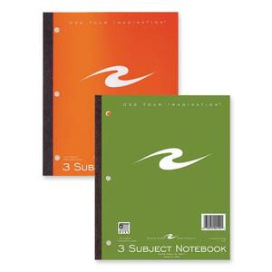 Roaring Spring 3-Subject Wireless Notebook ROA20194