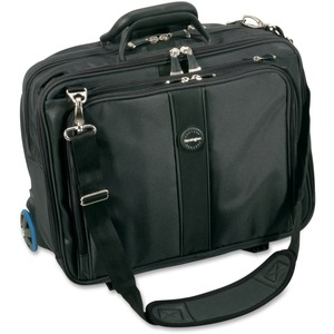 "Kensington Contour Carrying Case (Roller) for 17"" Notebook - Gray KMW62348"