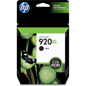 HP 920XL High Yield Black Original Ink Cartridge HEWCD975AN
