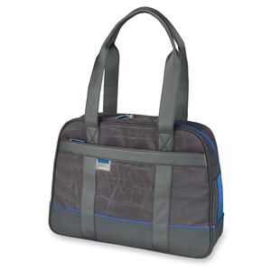 "Microsoft Carrying Case (Tote) for 15.6"" Notebook - Black, Blue SAM39407"