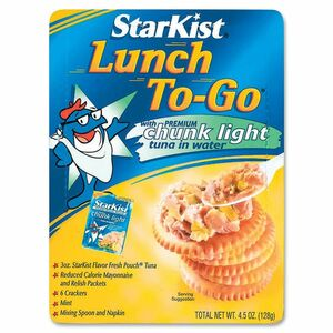 StarKist Lunch To-Go Tuna Kit SKIDEL495430