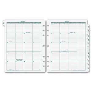 Franklin Covey Original Monarch Monthly Tab FDP35400