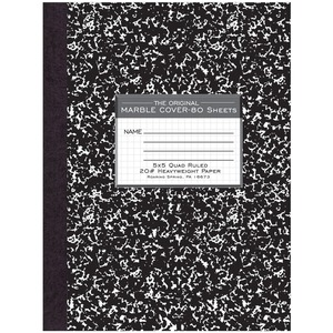 Roaring Spring Quadrille Composition Book ROA77475