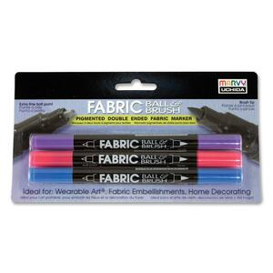 Marvy Fabric Ball/Brush Marker UCH1223B
