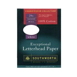 Southworth 100% Cotton Letterhead Paper SOUL1124