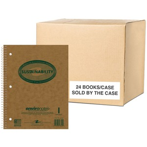 Roaring Spring Environotes 1-Subject Wirebound Notebook ROA13340