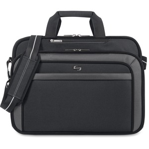 "Solo Sterling Carrying Case (Briefcase) for 17"" Notebook - Black USLCLA3144"