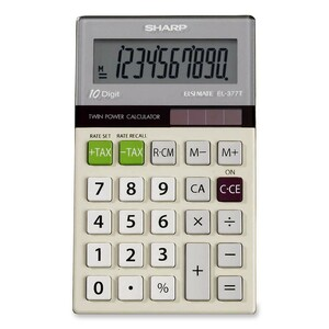 Sharp EL376G Pocket Calculator SHREL377TB