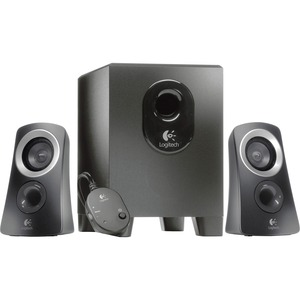 Logitech Z313 2.1 Speaker System - 25 W RMS - Black LOG980000382