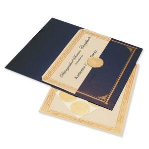 Geographics Gold Foil Embossed Award Certificate Kit GEO47481