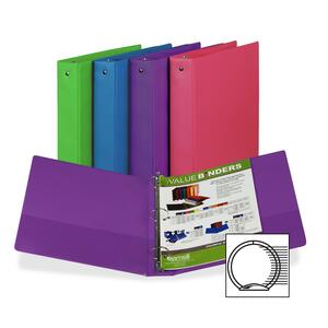 Samsill Fashion Assorted Value Storage Binder SAM11599