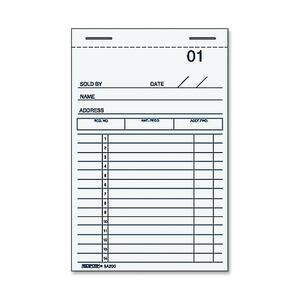 Rediform Sales Receipt Book RED5A220
