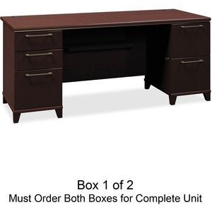 bbf Enterprise 2972MCA1-03 Pedestal Desk Box 1 of 2 BSH2972MCA103