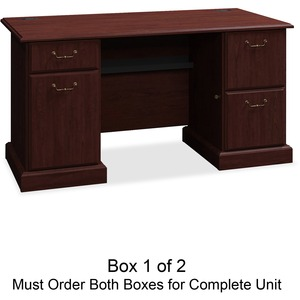 bbf Syndicate 6360CSA1-03 Pedestal Desk Box 1 of 2 BSH6360CSA103