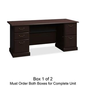 bbf Syndicate 6372MCA1-03 Pedestal Desk Box 1 of 2 BSH6372MCA103
