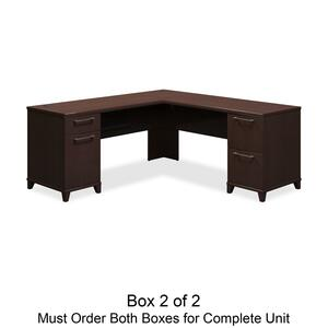 bbf Enterprise 2910MCA2-03 L-Shaped Desk Box 2 of 2 BSH2910MCA203