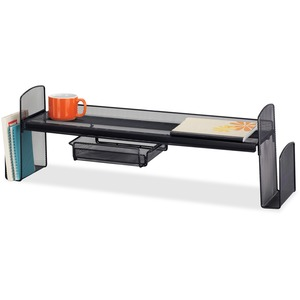 Safco Onyx Mesh Off Surface Shelf SAF3604BL
