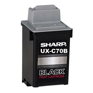 Sharp Ink Cartridge - Black SHRUXC70B