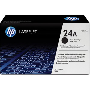 HP 24A Toner Cartridge - Black HEWQ2624A