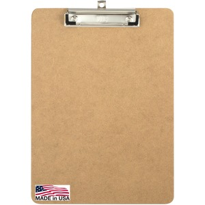 OIC Low-Profile Wood Clipboard OIC83219