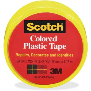 Scotch Colored Plastic Tape MMM190YW