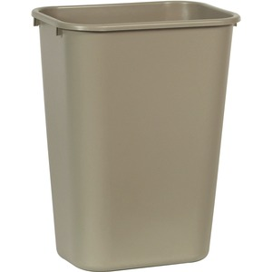 Rubbermaid Standard Series Deskside Wastebasket RCP295700BG