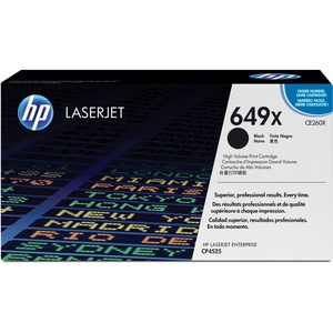 HP 649X (CE260X) High Yield Black Original LaserJet Toner Cartridge HEWCE260X