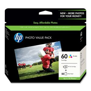 HP 60 Ink Cartridges HEWCG845AN