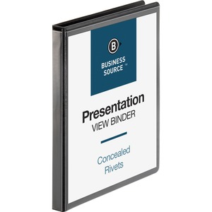 Business Source Standard Presentation Binder BSN09979