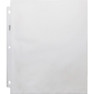 Business Source Top Loading Sheet Protector BSN74550