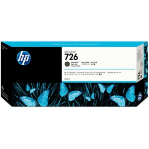 HP 726 Ink Cartridge - Matte Black HEWCH575A